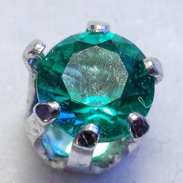 Emerald Obsidianiteen gemstone