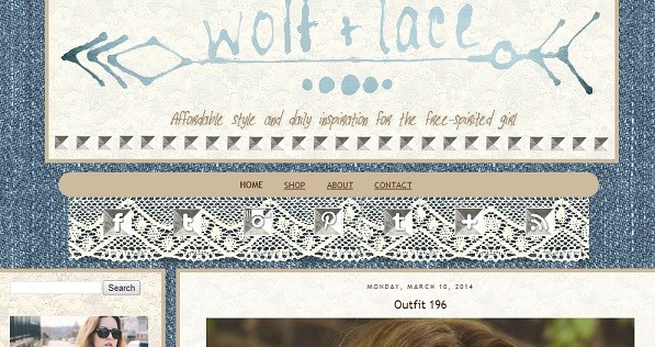 Wolf And Lace
