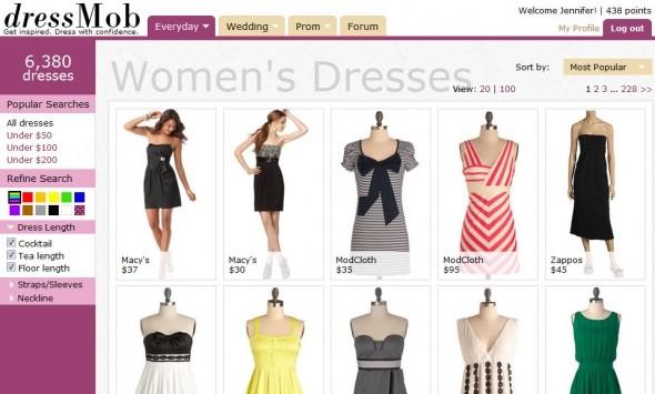 online clothes shops