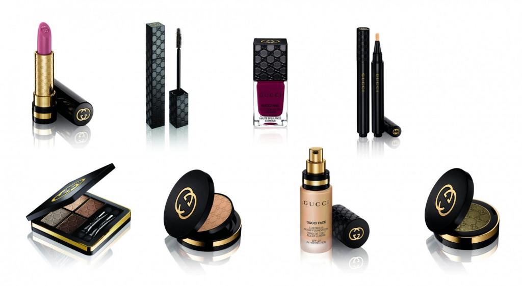 gucci cosmetics makeup line
