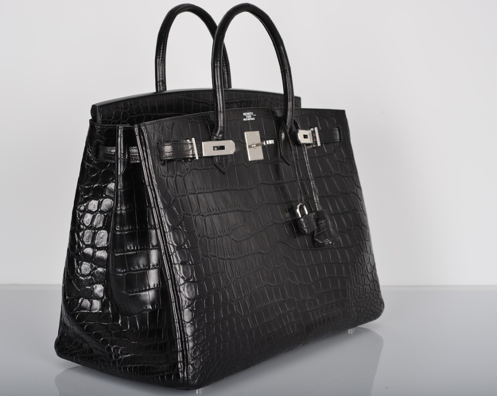 Hermes Matte Crocodile Birkin Bag