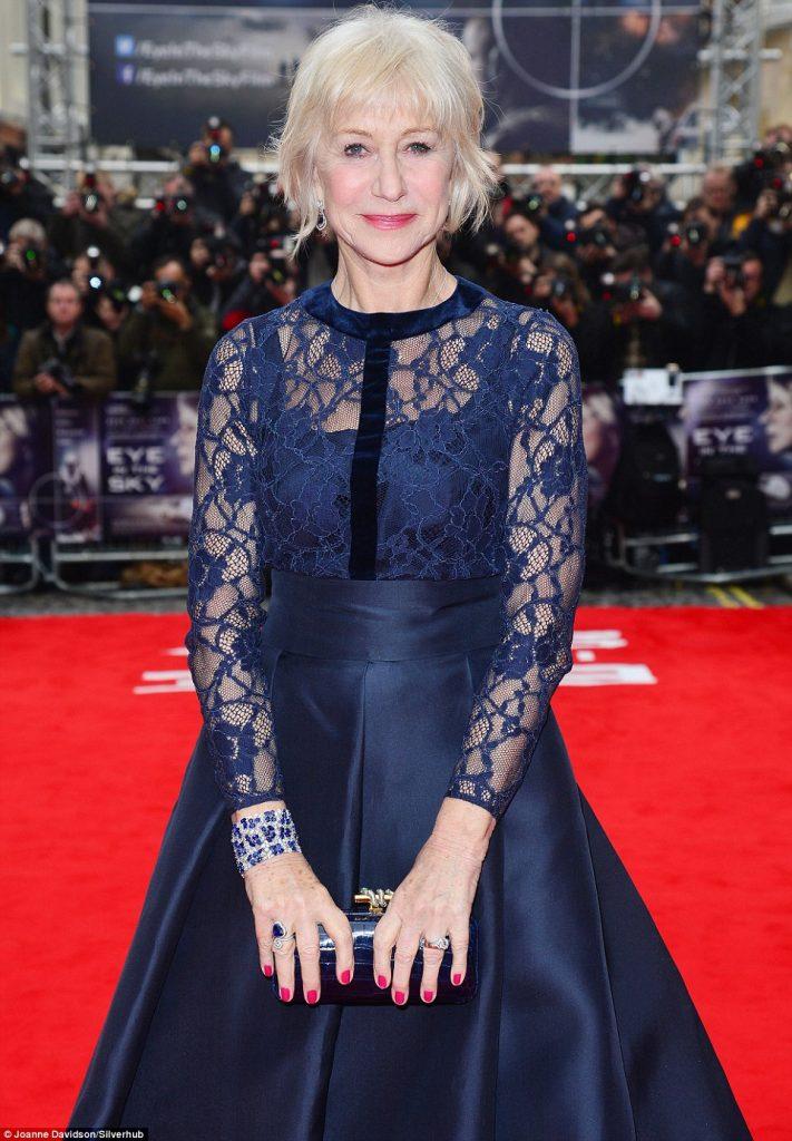 Helen Mirren red carpet outfit