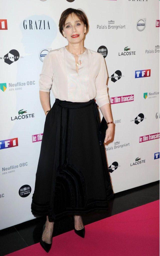 Kristin Scott Thomas fashion style