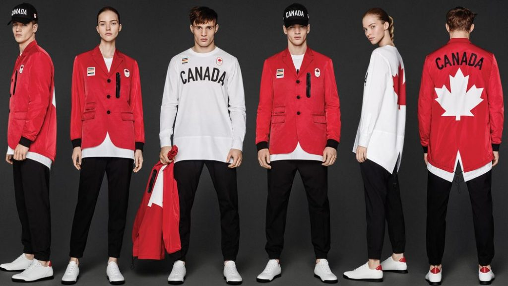 Team Canada Outfits 2016 Olympics