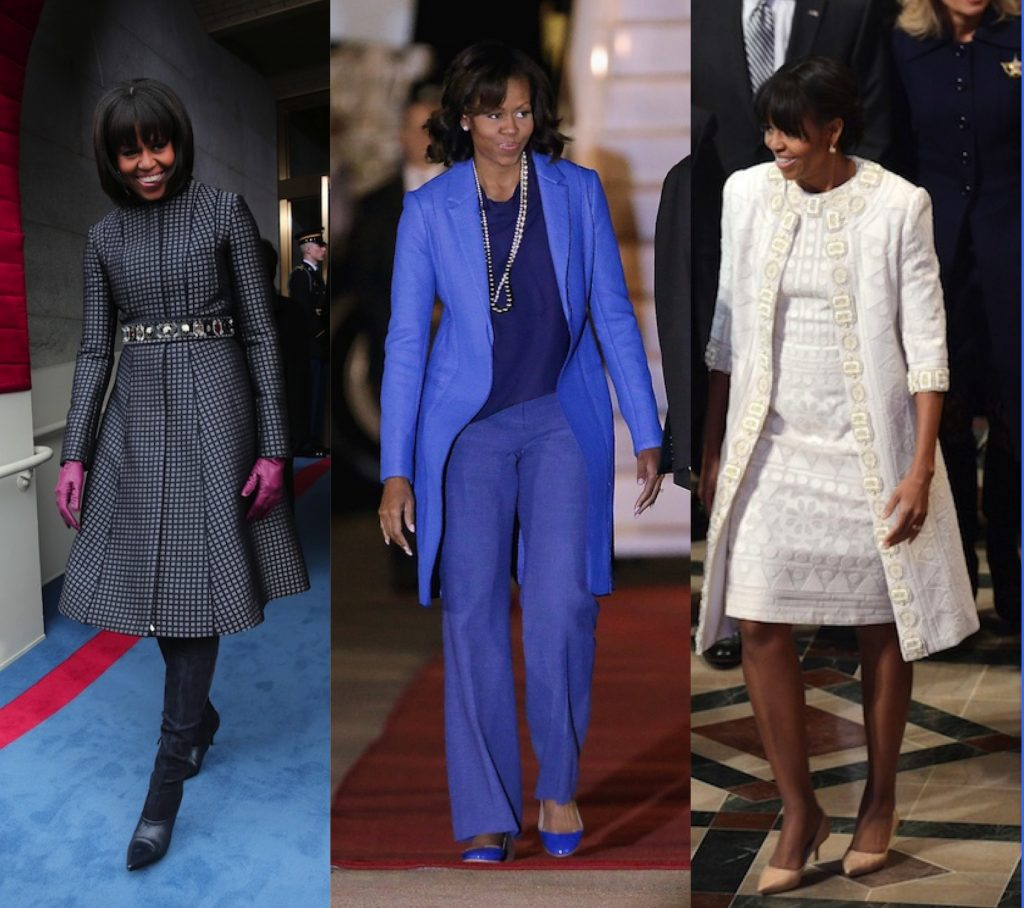 trench coats michelle obama