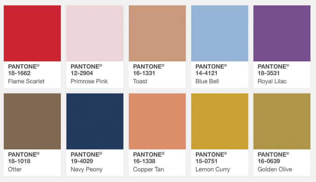 Fall 2017 Color Trends For London